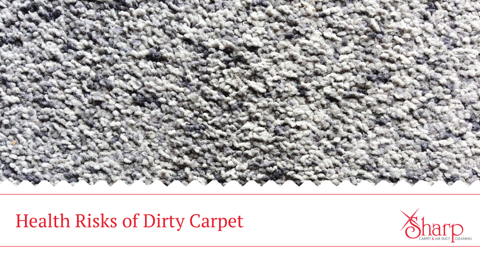 The Health Risks of Dirty Carpet